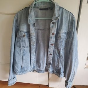 Oversized Vintage Denim Jacket